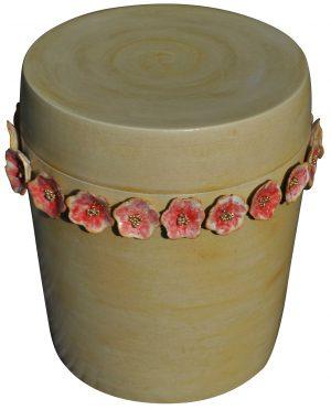 Urne Blumenkranz
